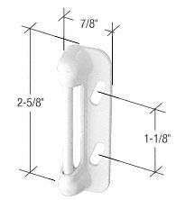 C.R. Laurence CRL White Screen and Storm Door Strike Plate at Sears.com